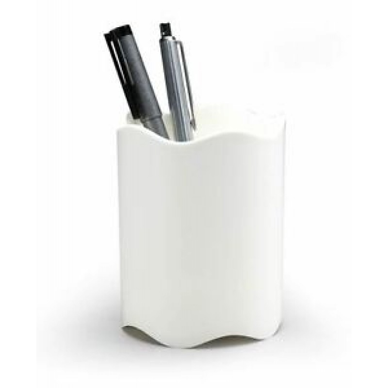 DURABLE 1701235010 PEN CUP TREND WHITE
