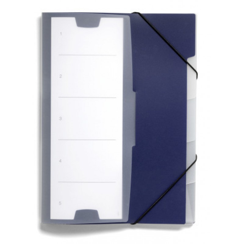 DURABLE 2475 07 INDEX FILE 5, DARK BLUE